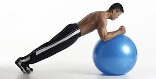 Ball Plank Exercises by Fidel Integrated Medical Solution